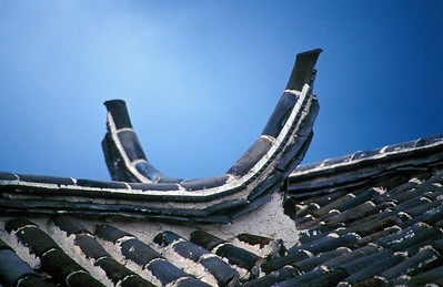 Typical Chinese Rooftops, Lijiang