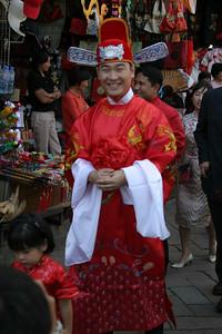 The groom, Shih-Hung.