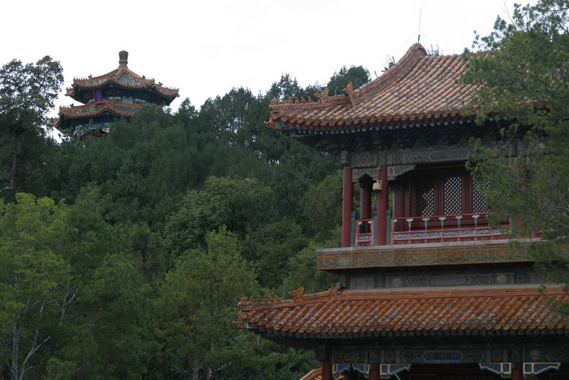 In Jingshan Park