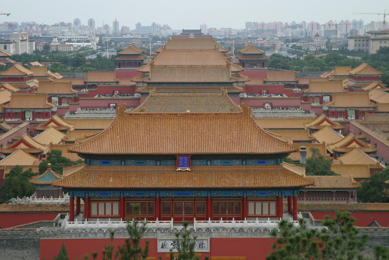 From Jingshan Park