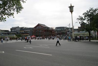 Beijing:  Qianmen and Tiananmen Square, Sep 2008