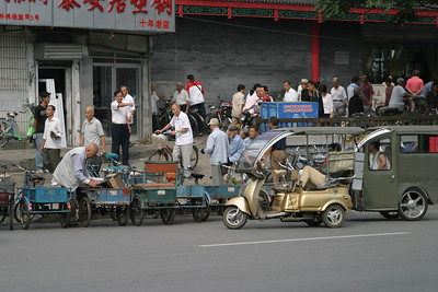 Along Jingtai Rd., south of the Temple of Heaven, Beijing