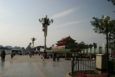 Tiananmen Square, outside the Forbidden City