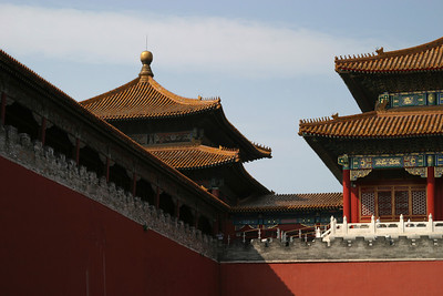 Wumen, the second gate of the Forbidden City