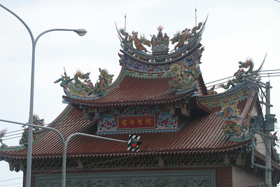 A Temple, on the Road from Hualien to Taroko National Park