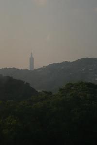 Taipei 101 from the Maokong Gondola