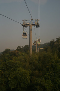 View from the Maokong Gondola