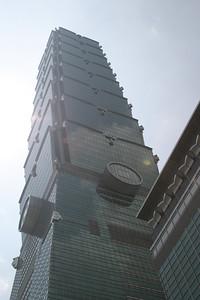 Outside Taipei 101