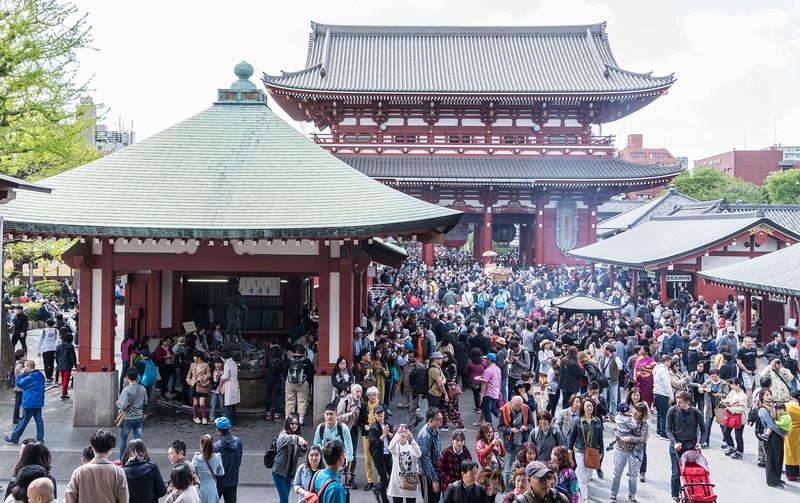 Tokyo's Senso-ji Temple Complex