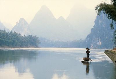 Fisherman, Li River, Guangxi Province