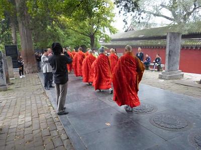 Монастырь Шаолинь. Большое путешествие по Китаю. Октябрь 2016