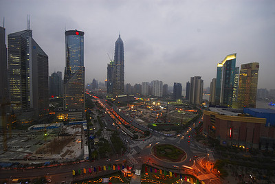 Шанхай. Октябрь 2006