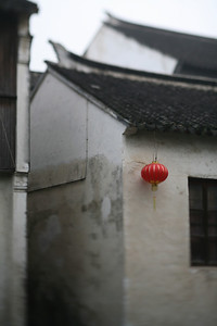 Red Lantern, Zhou Zhuang Watertown, China