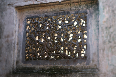 Window Grate with Birds, Hong Village, near Huangshan, China