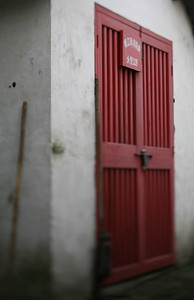 Red Door, Zhou Zhuang Watertown, China