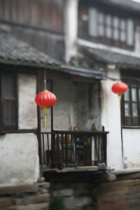 Red Lanterns, Zhou Zhuang Watertown, China