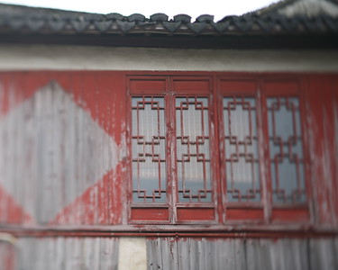 Red Window, Zhou Zhuang Watertown, China