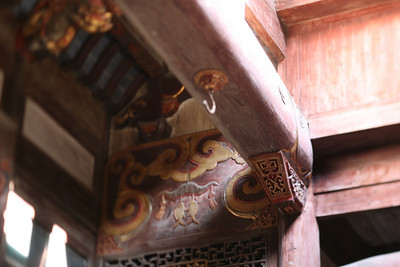 Beams and Carvings, Hong Village, near Huangshan, China