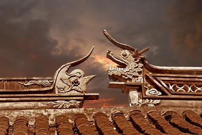 dragon & bird frieze, Forbidden City, Beijing, China