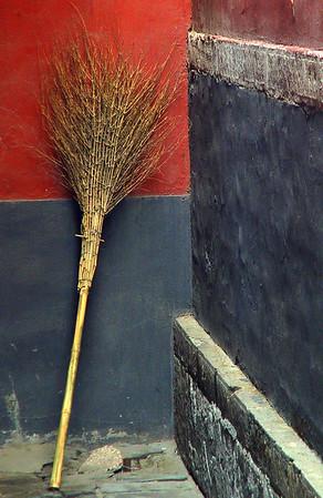 Broom, Yonghe Gong Lamasery, Beijing