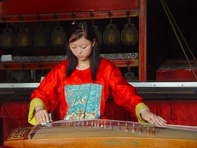 Musician, Confucian Temple, Beijing