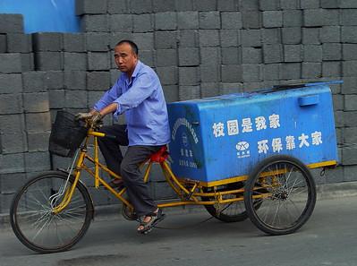Delivery man, Beijing