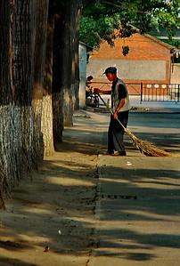Street sweeper, Beijing