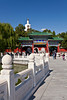 Beihai Park in Beijing, China.