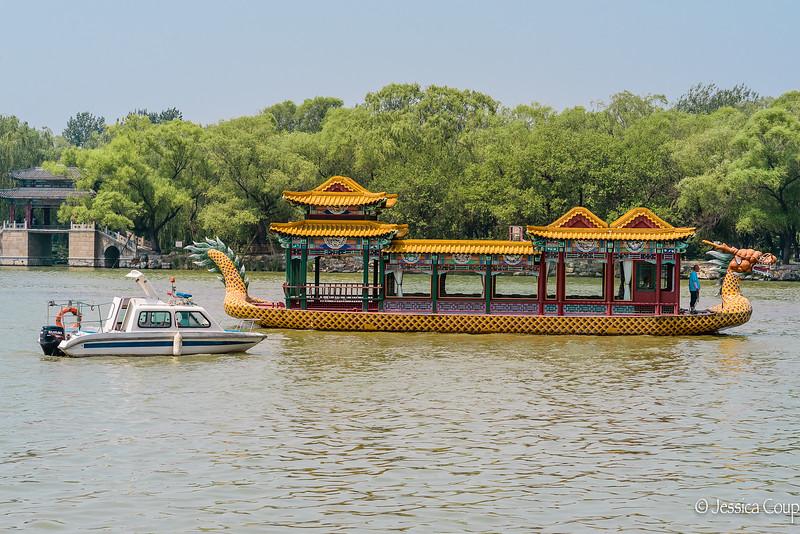 Boats at the Summer Palace