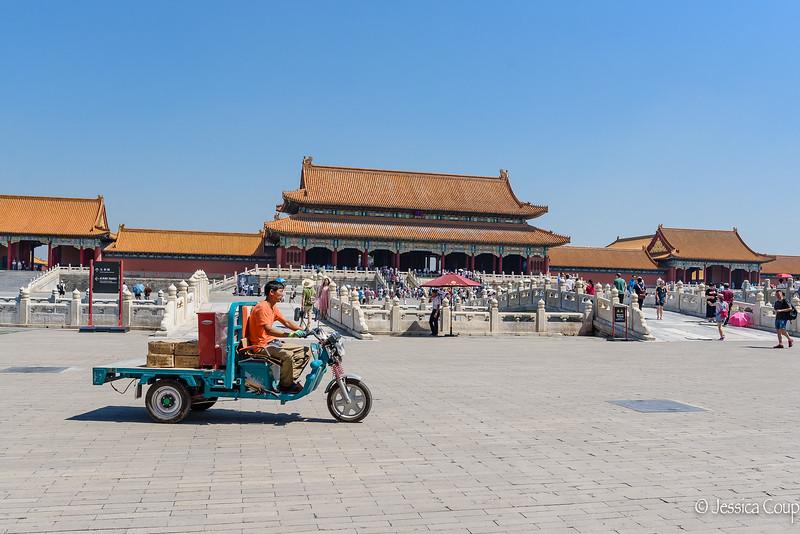 Running Supplies Around the Forbidden City