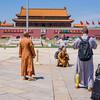 Monks in Tiananmen Square