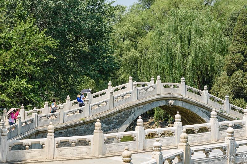 Marble Bridges at the Summer Palace
