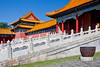 Chinese Dynasty architecture in the Forbidden City, Beijing, China, Asia.