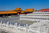Chinese Dynasty architecture and courtyard in the Forbidden City, Beijing, China, Asia.