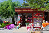 A small gift shop in Grandview Park, Beijing, China, Asia.