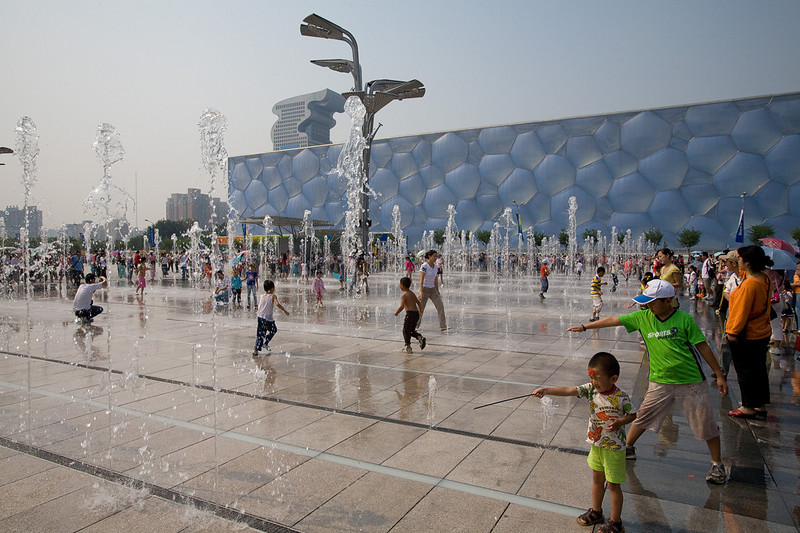 Water Cube, where all the swimming and diving events of the 2008 Beijing Olympics were held.