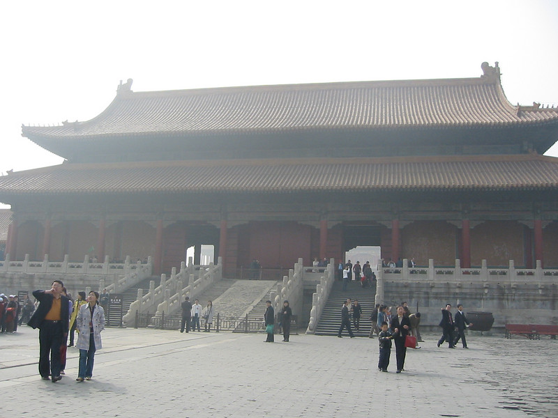 Gate of Supreme Harmony from the inside