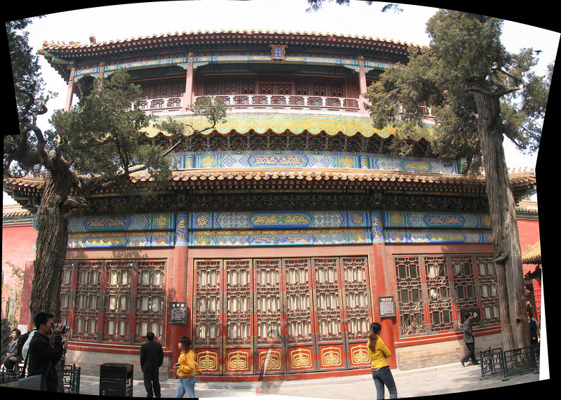 Originally called the Pavilion of High Expectations, this is where the Qing dynasty emperors used to select their concubines.