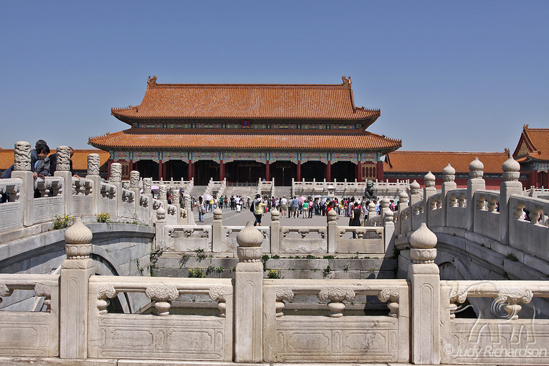 Gate of Supreme Harmony in Forbidden City, Beijing, China