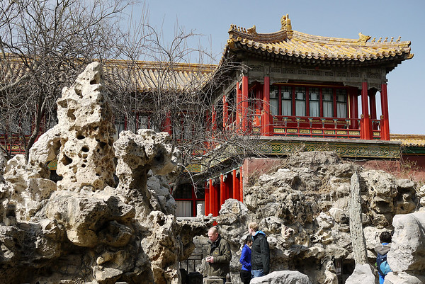 gardens at forbidden city
