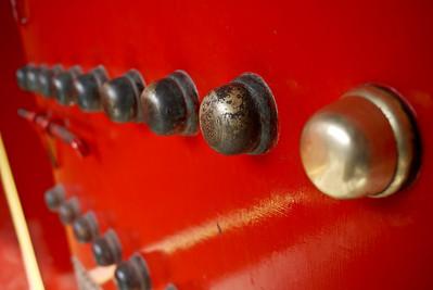 huge red doors within the Forbidden City