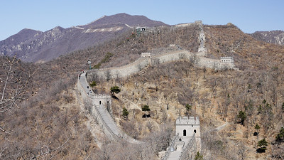 Views from the 14th Watchtower at the Great Wall of China