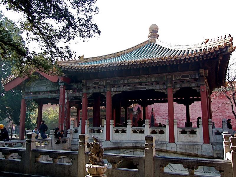 pavillon dans le jardin impérial