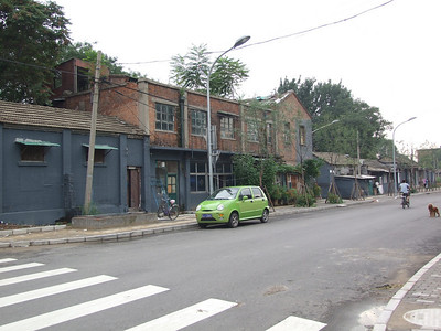 Autour de  Qian Men, au sud de la Cité Interdite