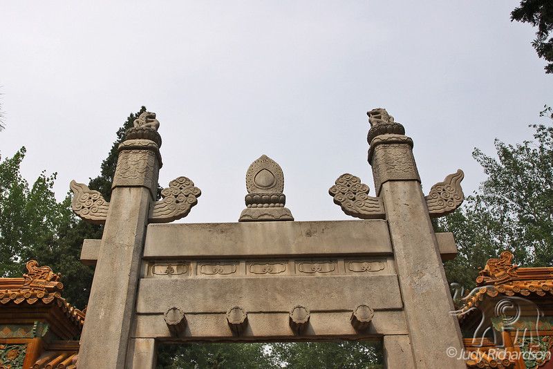 Gate at one entrance to Sacred Way~Ming Tombs