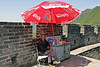 Refreshment stand on Mutianyu Wall