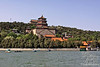 Summer Palace compound, designated a World Heritage site by UNESCO in 1990, is set on Kunming Lake on the Western edge of Beijing.