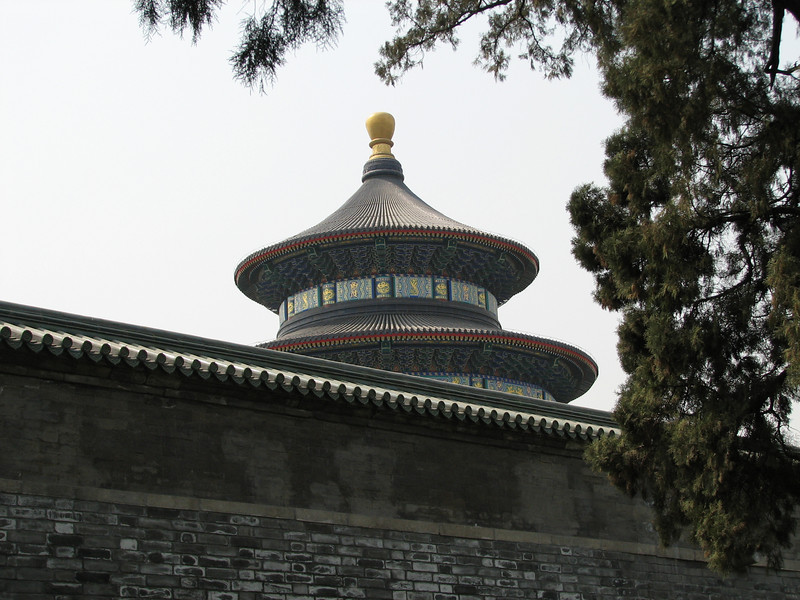 Side view of Temple of Prayer for Good Harvests