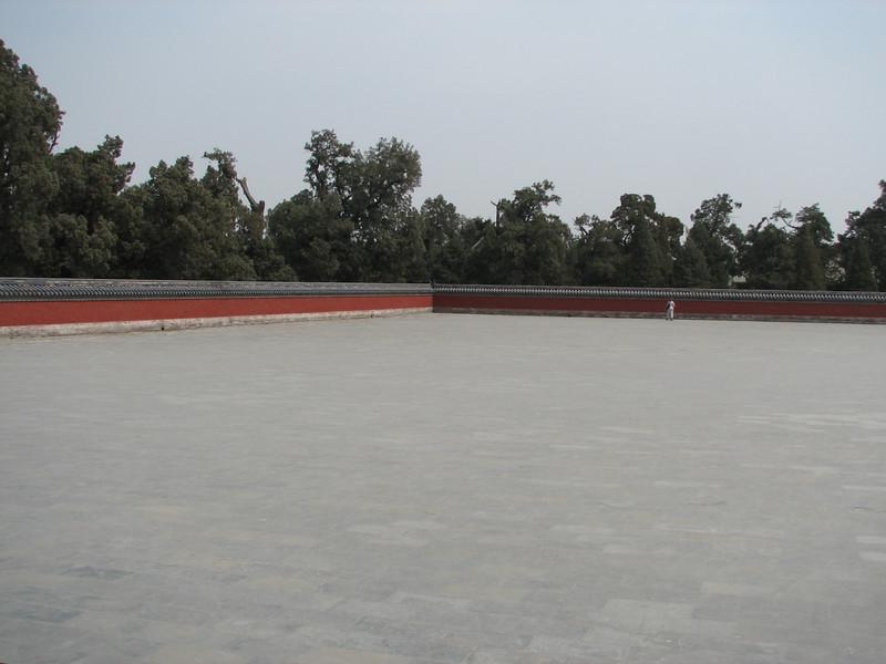 Large plaza surrounding the Round Altar