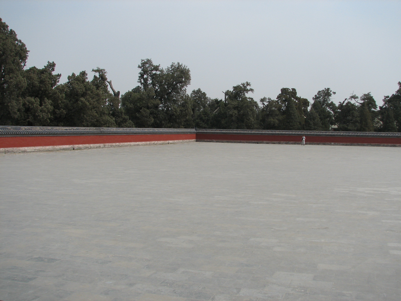 Large plaza surrounding the Round Altar